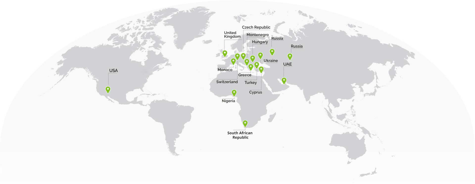 Discus Holdings offices in the world